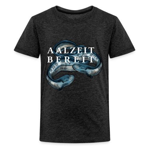 Aalzeit Bereit – Hamburger Singewettstreit - Teenager Premium T-Shirt
