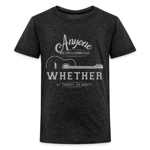 guitar - Koszulka młodzieżowa Premium