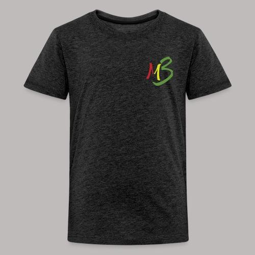 MB13 Logo rasta1 - Teenage Premium T-Shirt