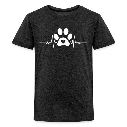 Fingerprint the dog - Camiseta premium adolescente