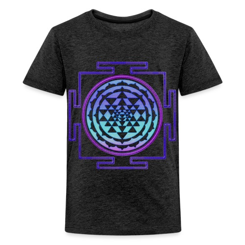 Sri Yantra - punched - Teenager Premium T-Shirt