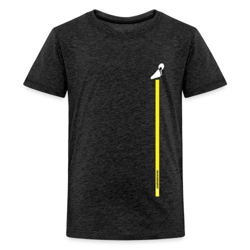 yellow line - Maglietta Premium per ragazzi