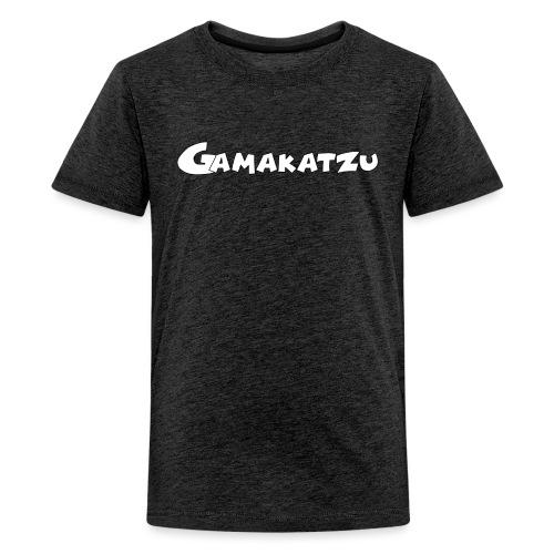 Gamakatzu Schriftzug A - Teenager Premium T-Shirt