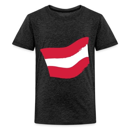 Strawanzer Blasmusik Flag - Teenager Premium T-Shirt