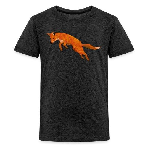 The Quick Brown Fox - Teenager Premium T-shirt