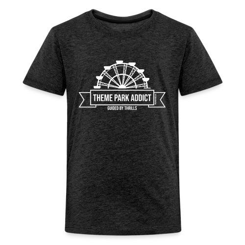 Insigne de parc à thème Addict - T-shirt Premium Ado