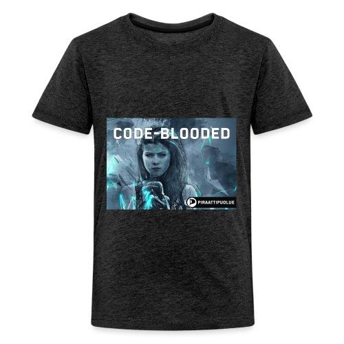 Code-blooded - Teinien premium t-paita