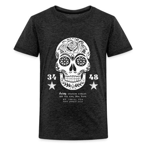 best skull tattoo - Maglietta Premium per ragazzi