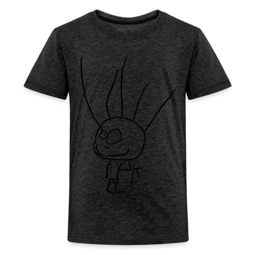 BARNTECKNING - Premium-T-shirt tonåring