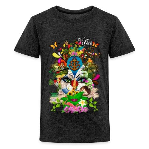 Parfum d'été by T-shirt chic et choc (tissu foncé) - T-shirt Premium Ado