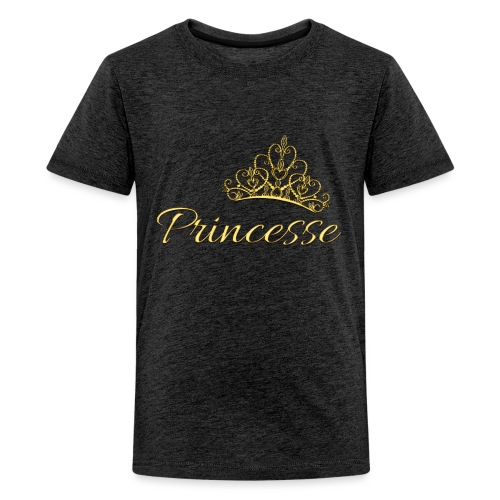 Princesse Or - by T-shirt chic et choc - T-shirt Premium Ado