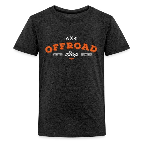4x4 Offroad Shop logo V1 - Teenager Premium T-Shirt