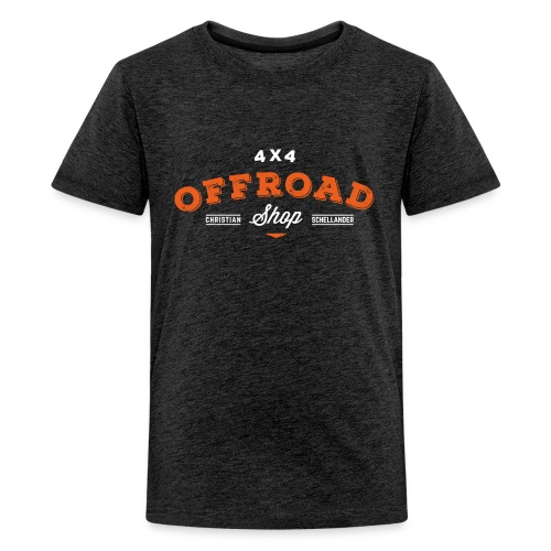 4x4 Offroad Shop logo V1 - Teenager Premium T-Shirt