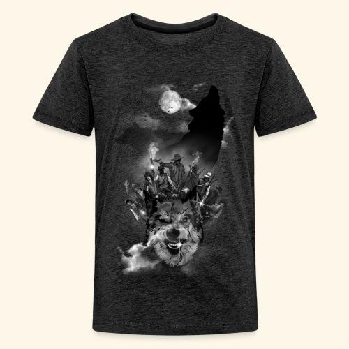 Bande de cowboys - T-shirt Premium Ado
