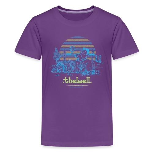 Thelwell Cartoon Pony Sieg - Teenager Premium T-Shirt
