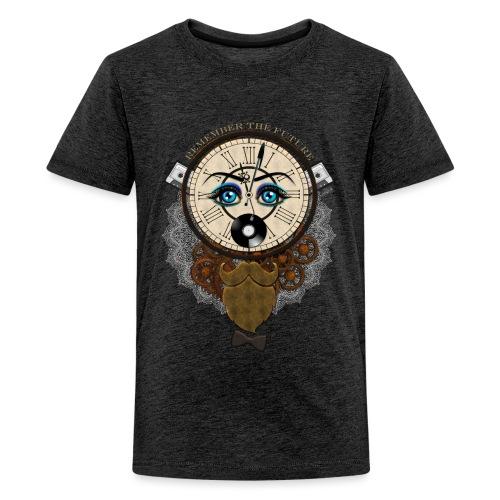 Remember the future : souviens-toi du futur - Or - T-shirt Premium Ado