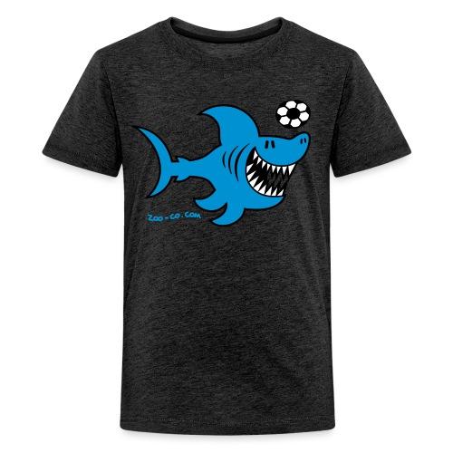 Shark Attacks - Teenage Premium T-Shirt