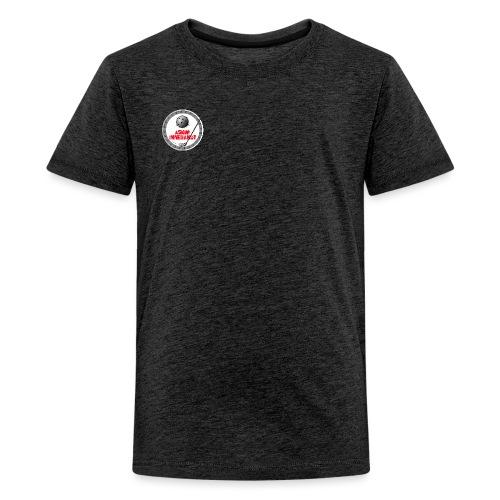 Logo Askim Innebandy - Premium T-skjorte for tenåringer