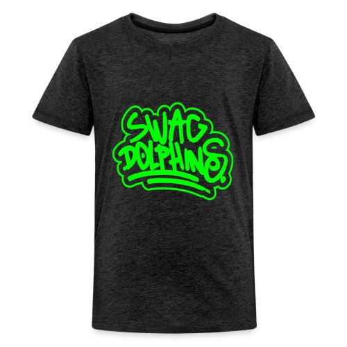 Swag Dolphins - Teenager Premium T-Shirt