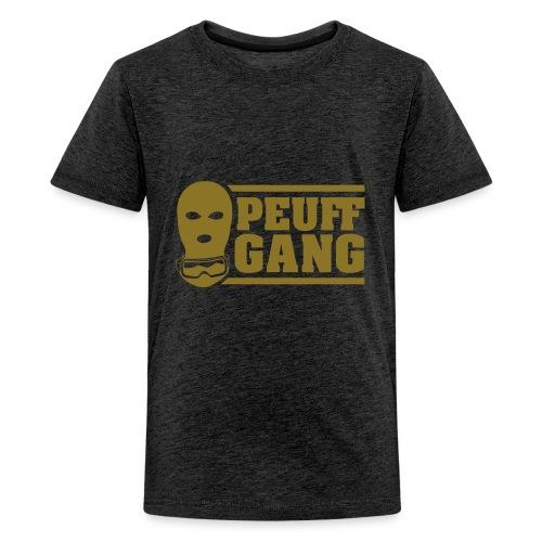 Peuff Gang Gold - T-shirt Premium Ado