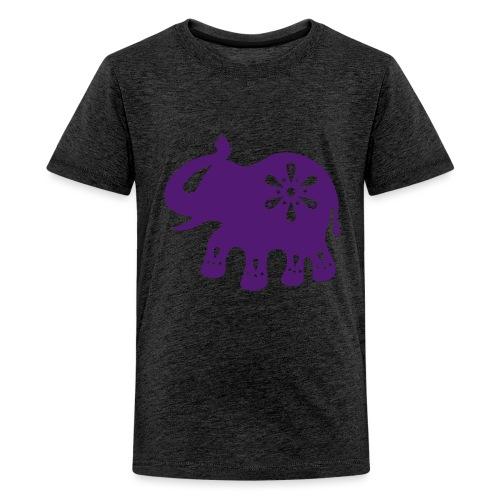 Indischer ELEFANT - Teenager Premium T-Shirt