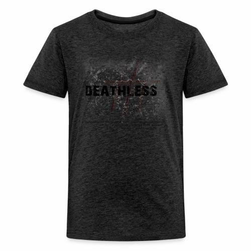 Deathless 3 Kreuze - Teenager Premium T-Shirt