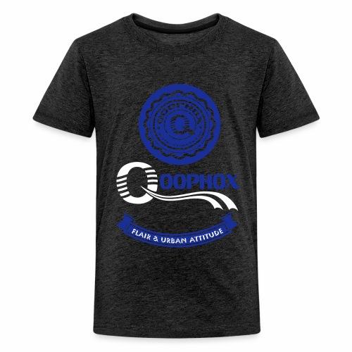 Qoophox Active Streetwear - Teenage Premium T-Shirt