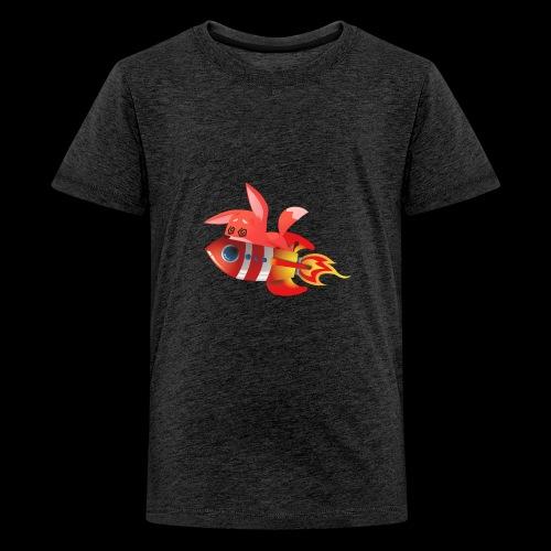 Black Planzi Merch (färbig) - Teenager Premium T-Shirt