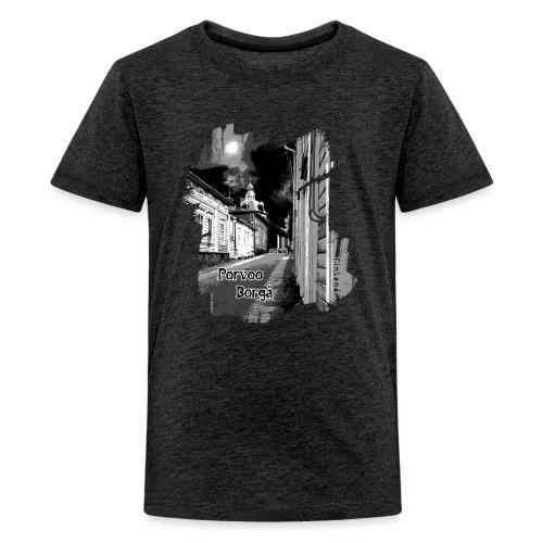 Porvoo vanhakaupunki - Tekstiili- ja lahjatuotteet - Teinien premium t-paita
