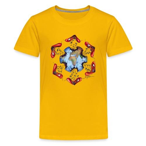 Égoïsme de l'être humain - T-shirt Premium Ado