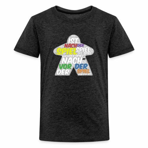 Meeple Nach der Spiel ist - Teenager Premium T-Shirt