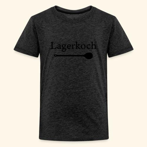 Lagerkoch Löffel - Teenager Premium T-Shirt