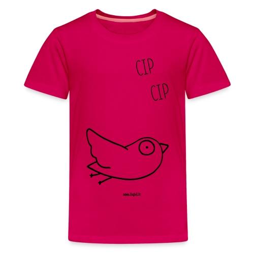 uccellino - Maglietta Premium per ragazzi