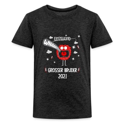 Großer Bruder 2021 lustiges Monster - Teenager Premium T-Shirt