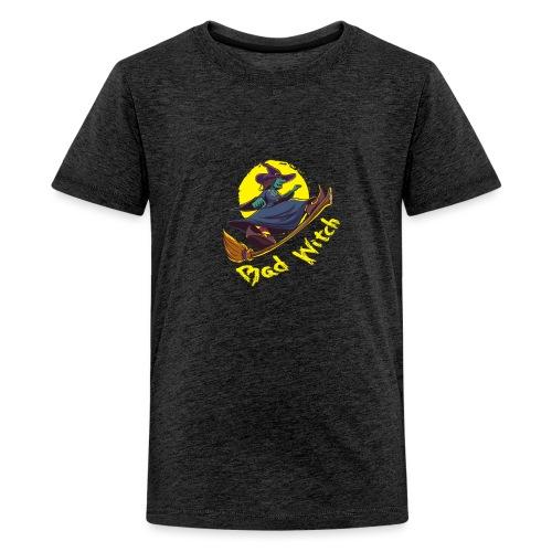 Bad Witch Outfit für Hexen im Kessel brauen - Teenager Premium T-Shirt