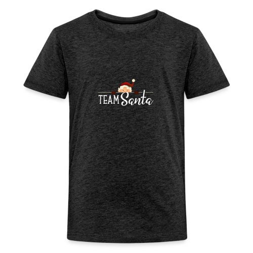 Team Santa Outfit für Familien Weihnachtsoutfit - Teenager Premium T-Shirt