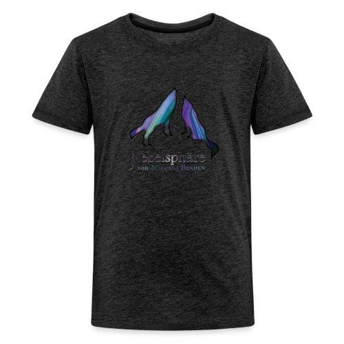Wölfe Bunt - Teenager Premium T-Shirt