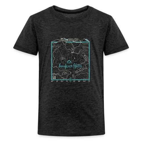 Laufener Hütte im Tennengebirge - Smalt Blue - Teenage Premium T-Shirt