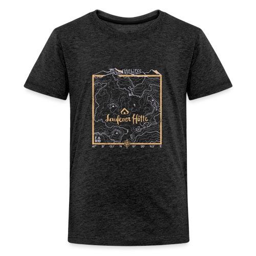 Laufener Hütte im Tennengebirge - Taco Yellow - Teenage Premium T-Shirt
