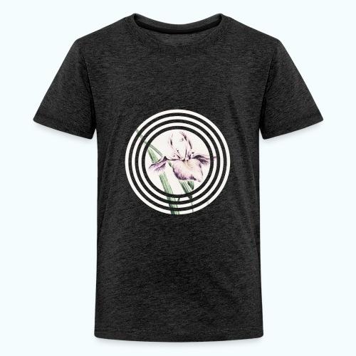 Lilies watercolor - Teenage Premium T-Shirt