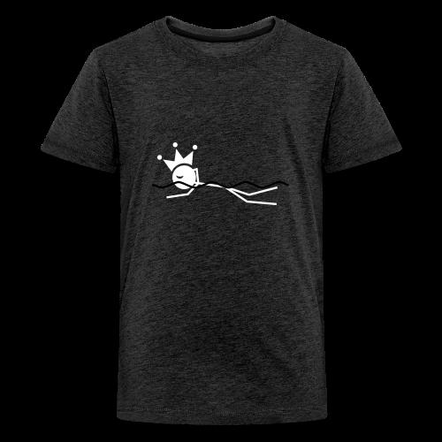Zwemkoning - Teenager Premium T-shirt