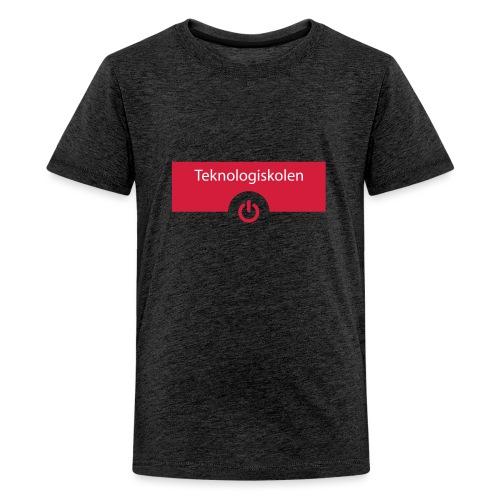 TeknologiskolenLogo - Teenager premium T-shirt