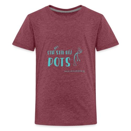 Sta (niet) stil bij POTS producten - Teenager Premium T-shirt