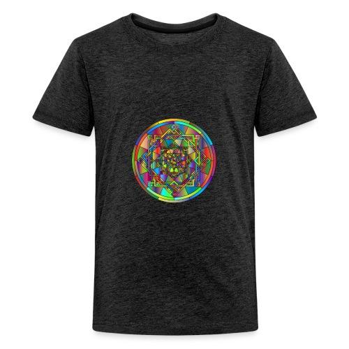 mandala et géométrie sacrée - T-shirt Premium Ado