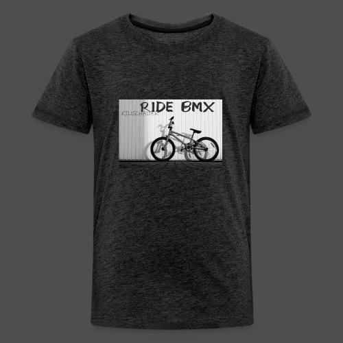 Jedź BMX - Koszulka młodzieżowa Premium