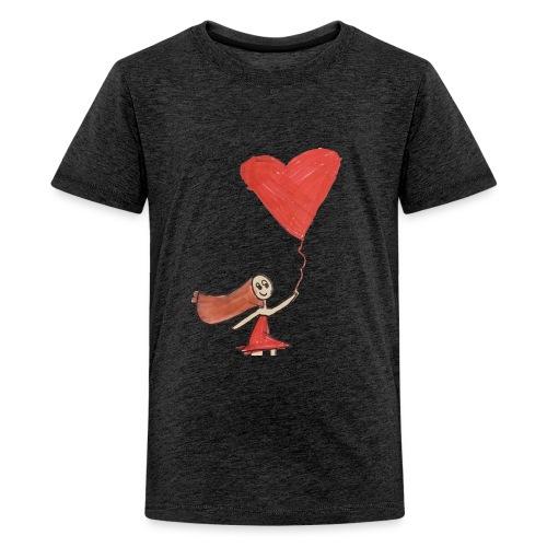 banksyrma - Premium-T-shirt tonåring