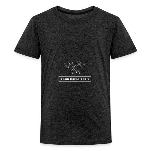 LogoHtagBlanc - T-shirt Premium Ado