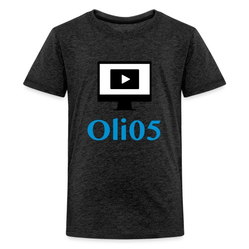 Oli05 Original logo - Premium T-skjorte for tenåringer