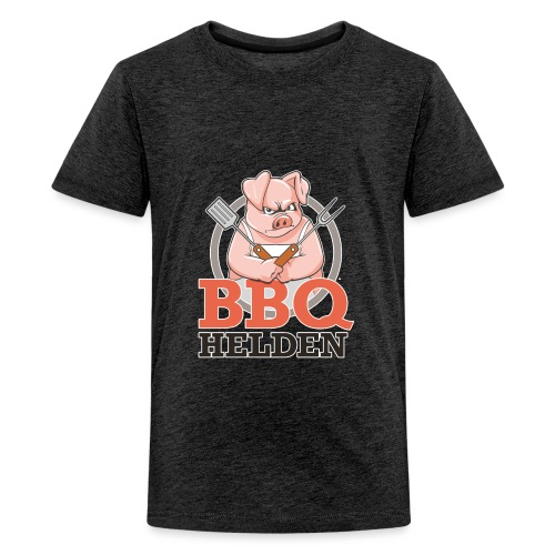 3d logo voorkant - Teenager Premium T-shirt