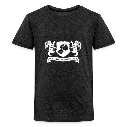 White Collar Boxing Hoodie Classic-Blue - Teenager Premium T-Shirt